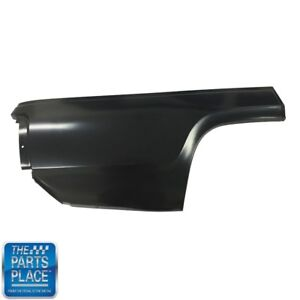 1971 72 Plymouth B Body Quarter Panel Lower Rear Rh