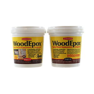2 Part a B 1 Pint Each Wood Epoxy Kit