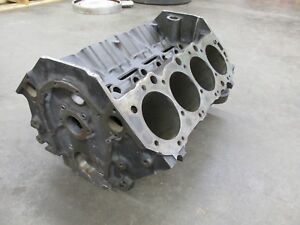 1968 Big Block Chevy Bbc 427 425hp Shp 4 Bolt Main Block 3916321 321 I 23 7