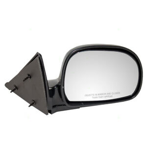 New Passengers Manual Side Mirror Chevy Gmc Isuzu Oldsmobile Pickup Truck Suv