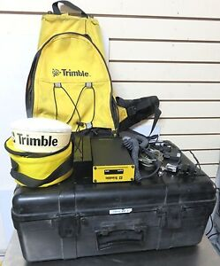 Trimble Dgps Gps Receiver V1 52 P n 38073 11 W antenna And Case