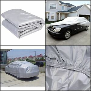 Full Car Cover Universal Fit Indoor Outdoor Sunscreen Heat Protection Dust Proof