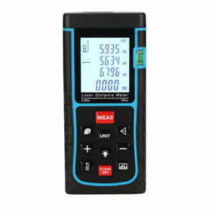 New 100m Digital Laser Distance Meter Range Finder Infrared Measure Diastimeter