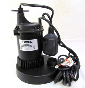 Flotec Automatic Sump Pump Fpos2400a automatic Submersible 3150 Gal Per Hour