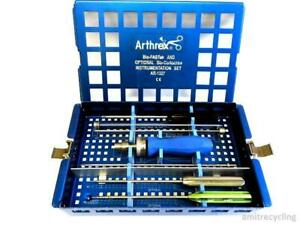 Arthrex Arthroscopy Bio fastak Instrument Set Ar 1327 Arthroscopic Complete