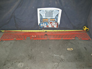 1969 Amc Jeep Kaiser Gladiator Cowl Grille Grill Will Fit Grand Wagoneer oem