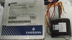 Emerson Direct Drive Blower Motor 1 3hp 4 Speed 6488