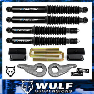 3 Front 3 Rear Lift Shocks Kit 2001 2010 Chevy Gmc 2500 3500 2wd 4wd 4x4 Hd