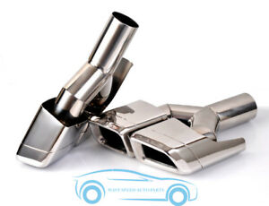 Exhaust Tips Muffler Pipe Tail For 10 13 Mercedes Benz Gl63 Ml W166 Amg X164