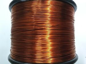 Essex Magnet Wire 14 Awg Gauge 0 0583 4oz 25ft Enameled Copper Coil Winding