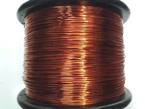 Essex Magnet Wire 12 Awg Gauge 0 0808 4oz 12 5 Ft Enameled Copper Coil Winding