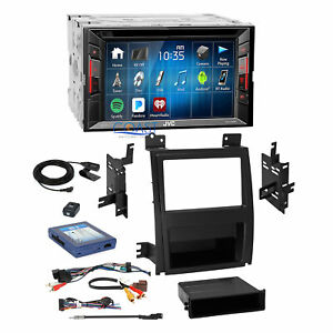 Jvc Dvd Bluetooth Stereo 2din Dash Kit Bose Harness For 07 Cadillac Escalade