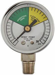 Henny Penny 16910 Pressure Fryer Gauge New