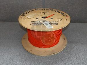 Surprenant Ee8 133 2 Ee 8 Red Awg 8 Ee8rd 1000v Electrical Copper Wire