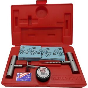 Safety Seal Ss kap60 Auto And Light Truck Tire Repair Kit With 60 Plugs