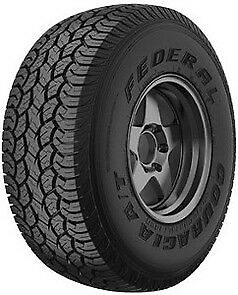 Federal Couragia A T Lt235 75r15 C 6pr Wl 2 Tires