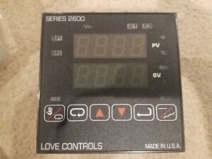 Sterlco 4000 Love Controls 26053 948 Temperature Controller