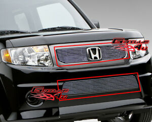 Fits 2009 2011 Honda Element Sc Billet Grille Combo