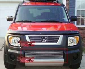 Fits 2003 2006 Honda Element Bumper Billet Grille Insert