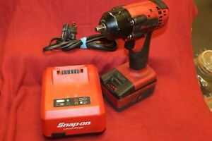 Snap on 18v 3 8 Drive Cordless Impact Wrench Ct8810a Battery Charger