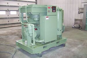 Sullair Ls20 100 100 Hp Rotary Screw Air Compressor Warranty