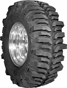 Super Swamper B 120 Bogger Tire Bias Ply Carcass Scooped Lugs 37 13 00r15