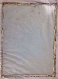 Antique Vtg Glass Window Panes Only Replacement Salvaged From Wood Frame Window