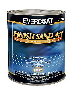 Evercoat 738 4 1 Gray Finish Sand Hybrid Polyester Primer Gallon Only fib 738
