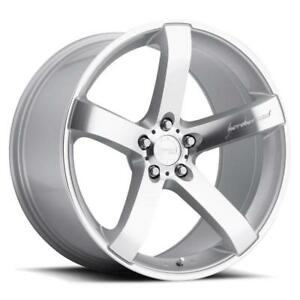 19x8 5 9 5 Mrr Vp5 5x120 35 40 Silver Wheels Set Of 4