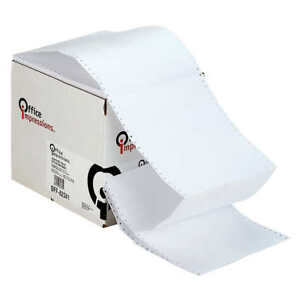Office Impressions Printout Paper 9 1 2 Inch X 11 Inch White 20lb 2 400 Sheets