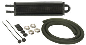 Derale 13200 Auto Trans Oil Cooler Kit 12 5 8x2 1 2x3 4 Tube Type