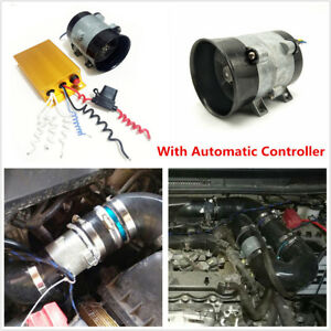 12v 16 5a Car Electric Turbine Turbo Charger Bold Lines W Automatic Controller