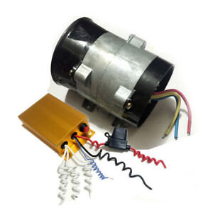 12 15v 16 5a Car Electric Turbine Power Turbo Charger Bold Lines With Controller