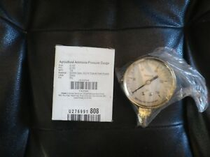 2 1 2 Agricultural Ammonia Pressure Gauge 0 To 150 Psi 4cfw4 Npt 1 4