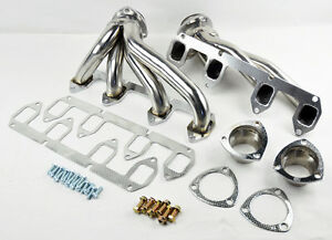 Ford Big Block Fe 330 360 390 428 Stainless Steel Shorty Headers Exhaust