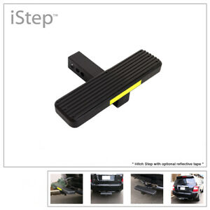 Aluminum Black 14 Inches Rear Trailer Hitch Step For Receiver 2in Tube