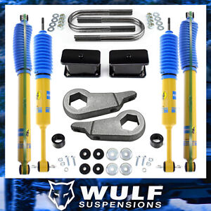 3 Front 3 Rear Leveling Lift Kit W Bilstein Shocks For 1998 2011 Ford Ranger