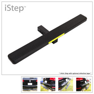 Aluminum Black 36 Inches Rear Trailer Hitch Step For Receiver 2in Tube