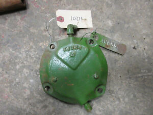 John Deere H Governor End Cap H802r Nos