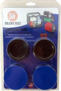 Industrial Silent Feet Anti vibration Pads For Generators Air Compress New