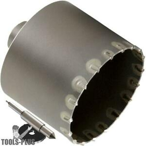 Milwaukee 48 20 5060 5 Sds max And Spline Thin Wall Carbide Tipped Core Bit New