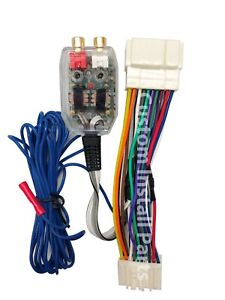 Factory Radio Amplifier Amp Sub Wire Harness Inline Converter Interface Kit