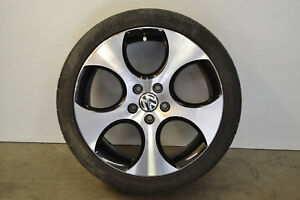 Mk6 Vw Jetta Gti Detroit Wheel 5 Spoke Rim 5x112 18 Genuine Oem 2010 2014