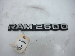 2000 Dodge Ram 2500 Van A T Emblem Badge Oem 1998 1999 2000
