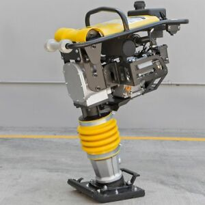 6 5hp Tamper Rammer Gas Vibration Plate Compactor Jumping Jack Compaction