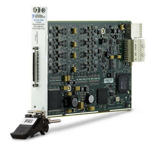 National Instruments Ni Pxie 6366 Pxie 8 Ai 16 bit 2 Ms s ch 2 Ao 24 Dio