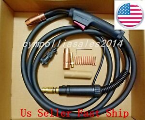Us Seller Mig Welding Gun 15 200amp Replacement lincoln Magnum 250l power Mig