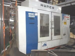 Hurco 3 Axis Vmc Model Bmc 4020 Ht m will Ship Item At Your Expense