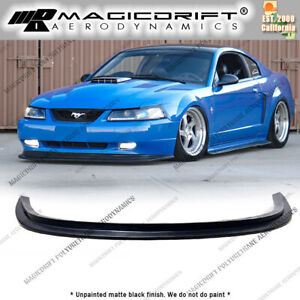 For New Edge 99 04 Ford Mustang Mda Cobra Style Front Chin Spoiler Bumper Lip