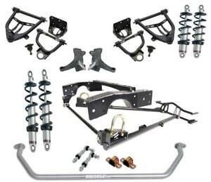 Ridetech 63 70 Chevy C10 Coil Over Suspension System Control Arm Kit Sway Bar